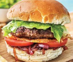 food delivery beef burger